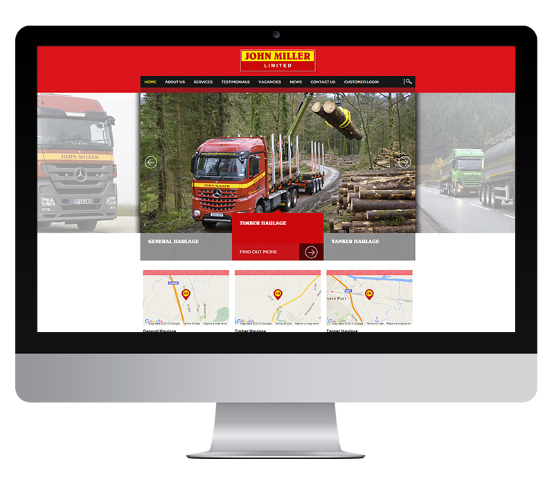 John Miller haulage website