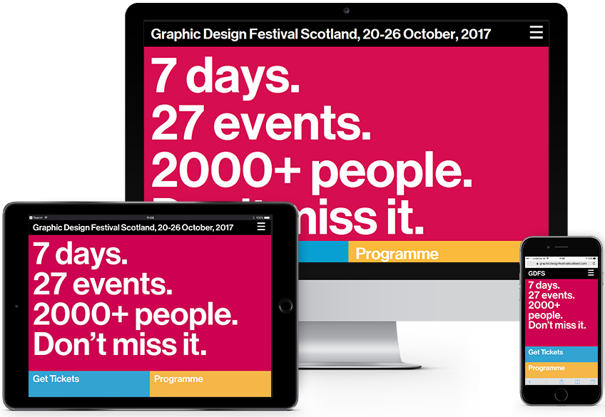 GDFS 2017 website built by Infinite Eye