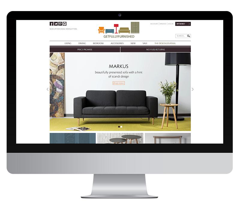 Get Fully Furnished furniture retailer