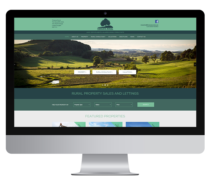 Threave Rural land and estate agents