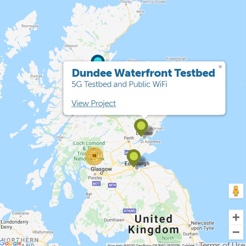 scotland 5g maps