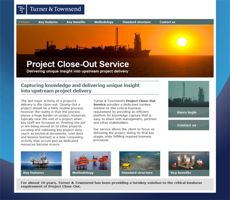 Turner & Townsend - Project Close-Out Service