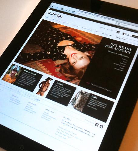 Katie & Jo | Magento Ecommerce Website