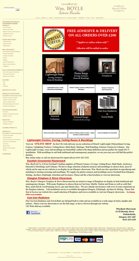 Wm Boyle old website
