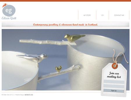 Eileen Gatt website design
